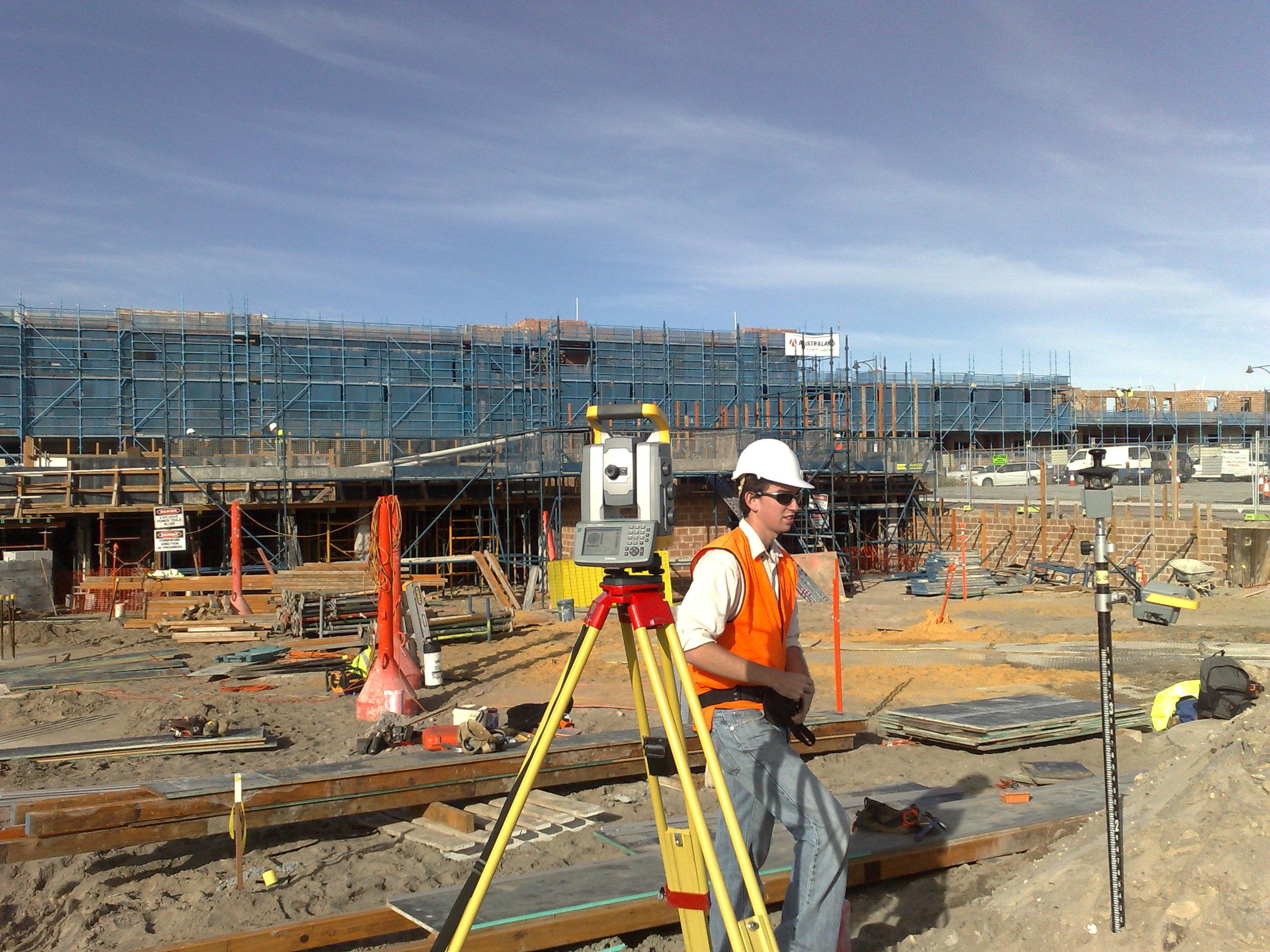 Engineering Surveys - Site Setout - Engineering Surveyors