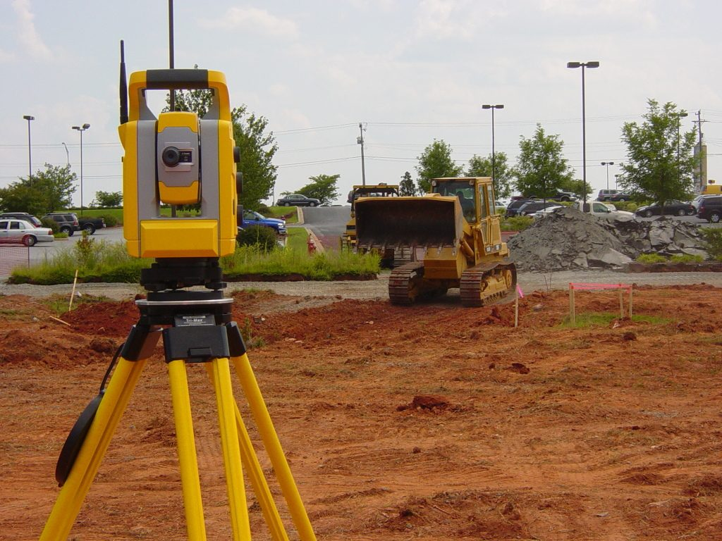 how to use a total station for setting out pdf