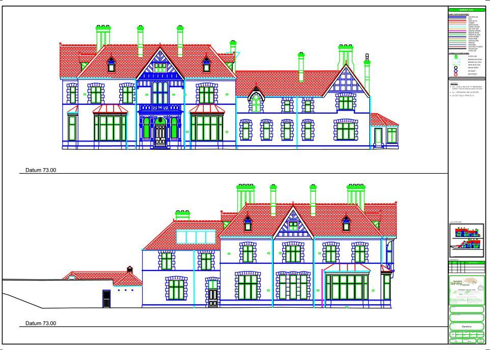 Floor Elevation Survey Manometer : Measured building survey experts elevations floor plans